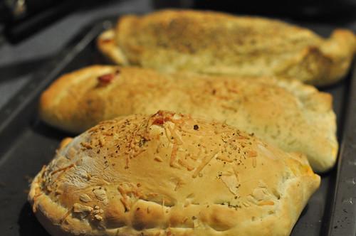 Bake Calzones 20 Minutes until Golden Brown
