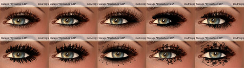 Garage eyelashes 21-30