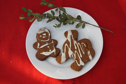 gingerbread man and camel
