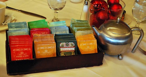 Nathaniel's Restaurant Tea Selection