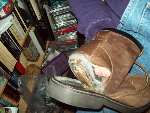 Wow, I need new boots!