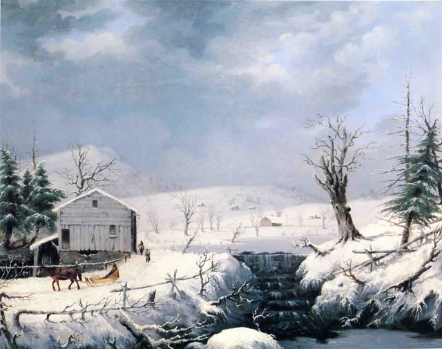 Winter in New England 1852
