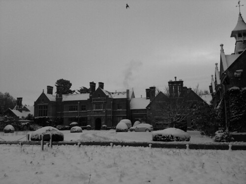 The Lodge in The Snow