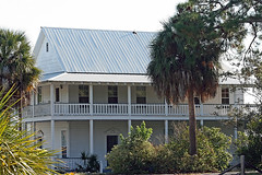 Cedar Key Building (MickiP65) Tags: november houses homes vacation usa house building tourism home gulfofmexico architecture buildings coast wooden gulf florida getaway web frame northamerica fl ck fla 2009 cedarkey levy allrightsreserved bldg gulfcoast copyrighted bldgs canonef75300 canoneos30d michellepearson websized naturecoast 111909 mickip65 nov192009 20091119 11192009 img0030339
