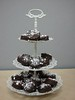 chocolate dipped oreos with peppermint candies (Sweet Flair) Tags: christmas dessert oreo chocolatedipped peppermint