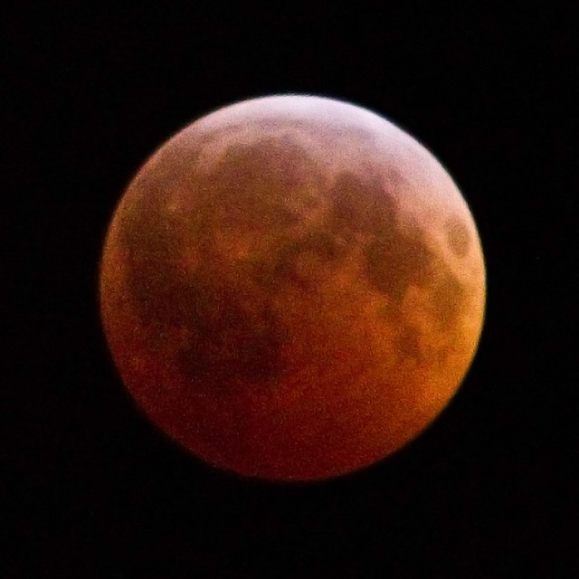 San Francisco full lunar eclipse, December 2010