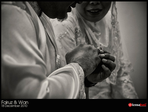 engagement fairuz & Wan