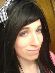 Amused (*~Much to My Dismay~*) Tags: emo young crossdressing tgirl transgender crossdresser crossdress ts transsexual