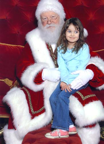 V & Santa 2