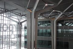 EuroAirport (individual8) Tags: france airport construction december ceiling 2010 euroairport dopplr:explore=b5p1