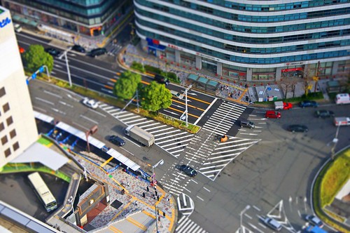 Nagoya station Tilt shift