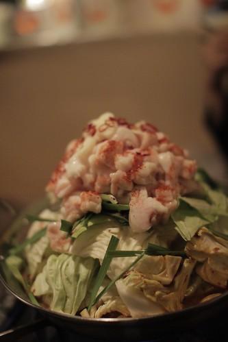 和牛ピリ辛モツ鍋