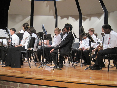 December 2010: Katherine's holiday band concert