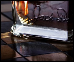 Jack, should I stay or should I go now, HMM! + HTT! Explored (Ianmoran1970) Tags: wood shadow reflection square jack whisky jd hmm jackdaniels fingerprint htt ianmoran macromonday tipsytuesday ianmoran1970