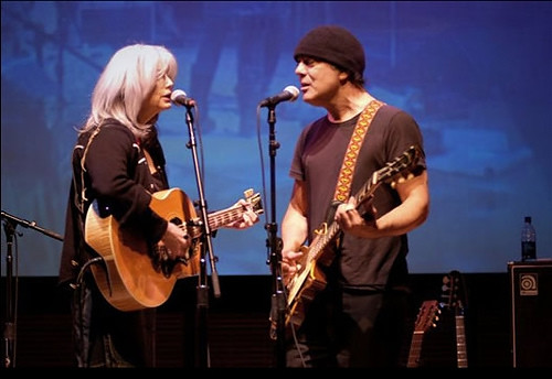 Emmylou Harris and Daniel Lanois
