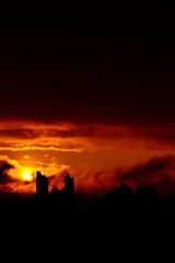Pr do Sol (Rogerio Motoda) Tags: sunset pordosol sky sun sol cu tarde top20sunsetsofourhearts