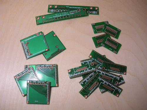 Assorted PCBs from BatchPCB