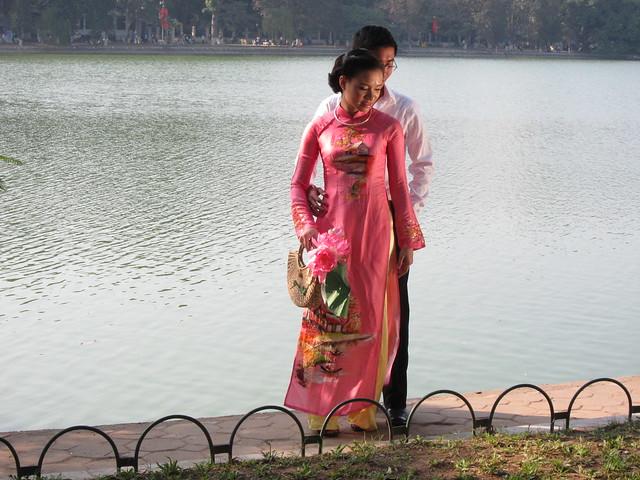 Wedding Shoot At Hoan Kien