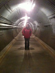 Sarah at the Diefenbunker