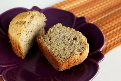 banana cinnamon muffin