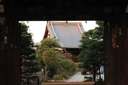 谷中 日暮里近くの寺院