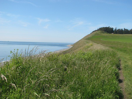 Ebey's Prairie in Coupeville