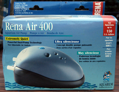 $20 - Rena Air 400 for up to 150 gallons