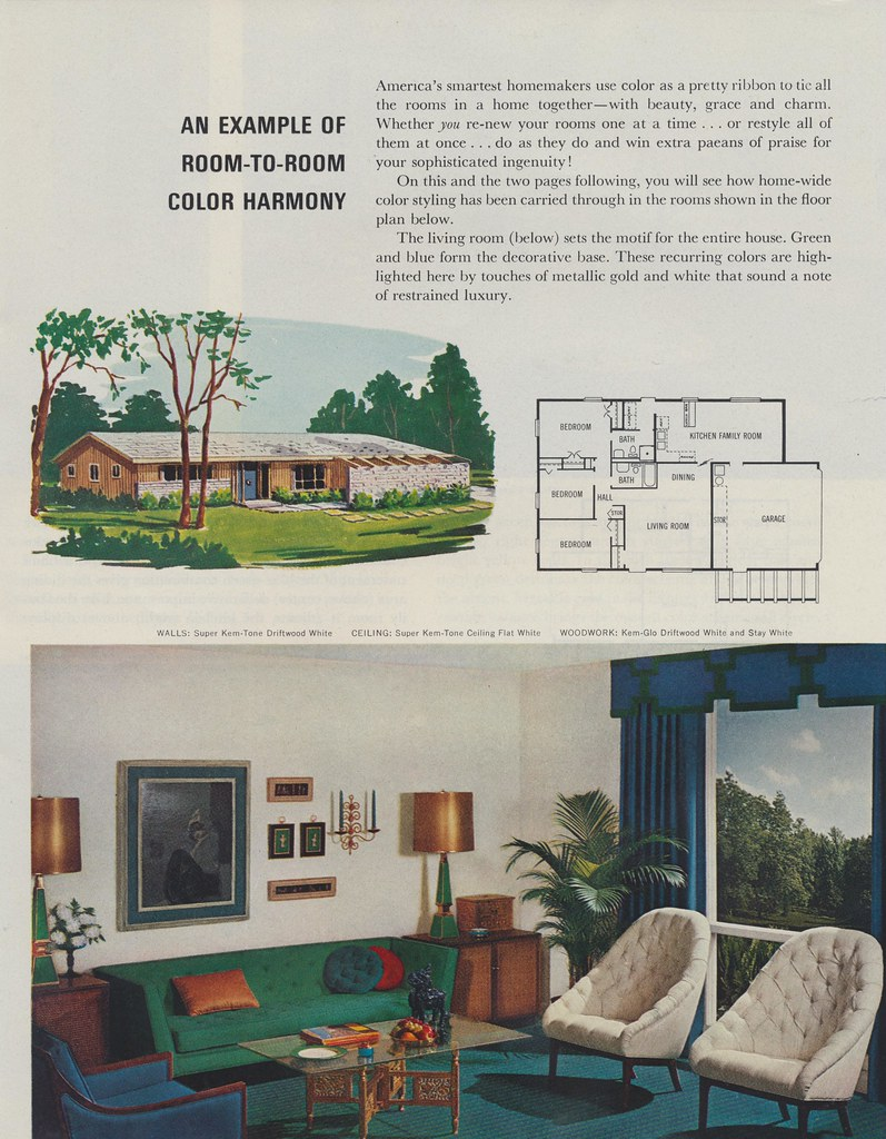 An Example Of Room To Color Harmony The Cardboard America Archives Tags