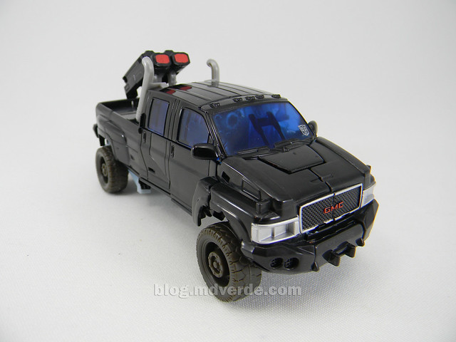 Transformers Ironhide HftD Deluxe - modo alterno