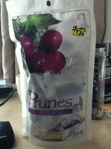 2011-01-04 - Snack - 01 - Packet of prunes