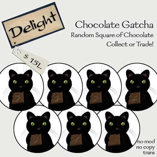 ~Delight~ Chocolate Gatcha!