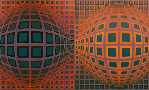 "Victor Vasarely • <a style=""font-size:0.8em;"" href=""http://www.flickr.com/photos/30735181@N00/5323526229/"" target=""_blank"">View on Flickr</a>"