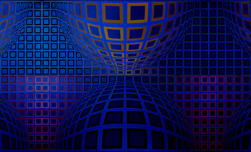 "Victor Vasarely • <a style=""font-size:0.8em;"" href=""http://www.flickr.com/photos/30735181@N00/5324120422/"" target=""_blank"">View on Flickr</a>"