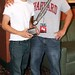 Brandon Maldonado & Paul Gonzales with their awards at Horrific Film Fest 2010