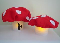 Pair of Mushroom Lights