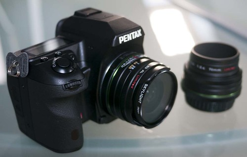 Pentax K-5 15mm f4 & 70mm F2.4 lens