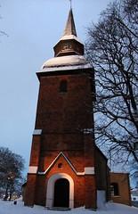 6 av 365 (Yvonne L Sweden) Tags: winter snow vinter 365 sn eskilstuna kyrktorn forskyrka 3652011