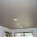 Painted faux stainless ceiling