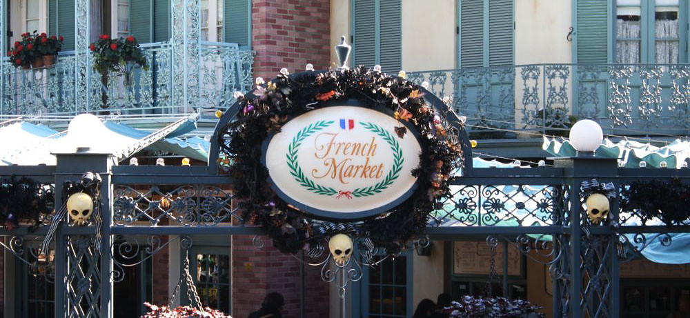 Disneyland's French Market