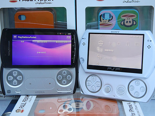 PlayStation Phone and PSP go
