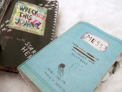 Wreck This Journal & Mess: The Manual Of Accidents and Mistakes