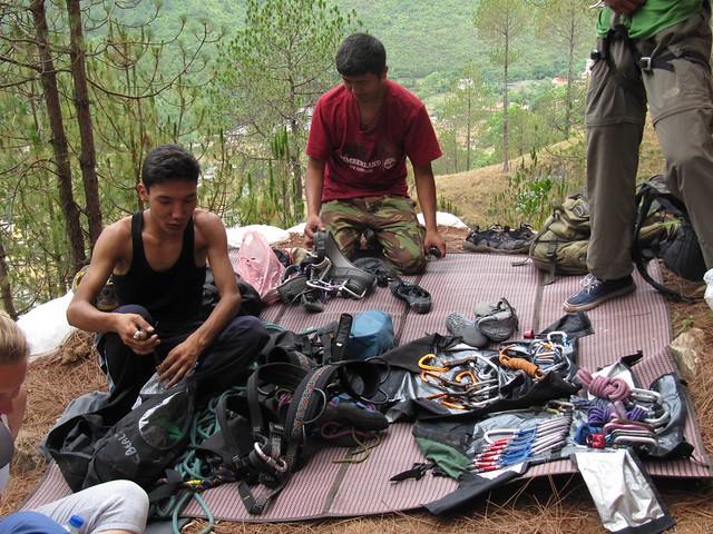 Rock Climbing - gear