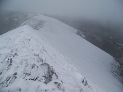 Ridgeline on Hopegill Head to Whiteside Photo