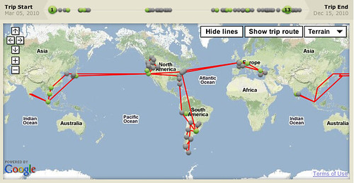 Sabbatical Travel Map Step Is The Hard Part - Create a trip map