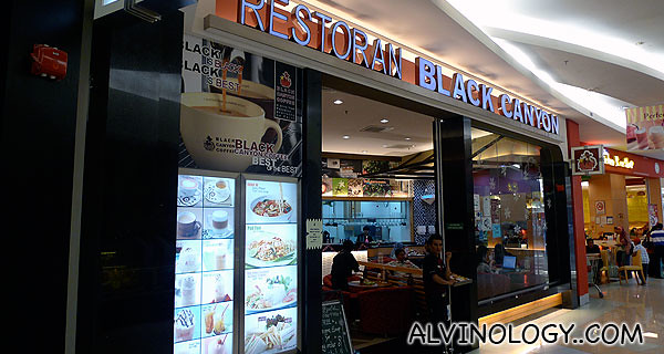 Restoran Black Canyon