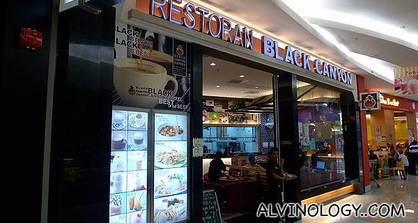 Restoran Black Canyon