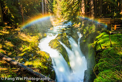 Sol Duc Falls, Olympic National Park (Feng Wei Photography) Tags: park morning travel light summer wallpaper vacation usa white inspiration color green nature water beautiful beauty creek forest wonderful season wonder landscape waterfall washington leaf nationalpark moss amazing rainbow scenery colorful pretty paradise arch pacific northwest hiking scenic blurred romance falls foliage harmony serenity stunning backdrop romantic olympic lush olympicnationalpark inspire picturesque silky secluded solducfalls