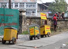 Icecream in Pokhara (AdjaFong) Tags: nepal business icecream pokhara