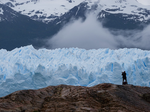 The Photographer, Perito Moreno Glacier - Patagonia, Argentina