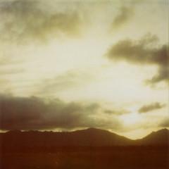 (julia marta) Tags: sunset mountains polaroid hawaii northshore